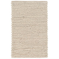 Surya DSO202-23 Desoto 36 X 24 inch Neutral and Brown Area Rug, Wool