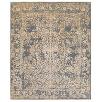 Desiree 156 X 108 inch Gray and Neutral Area Rug, Wool, Viscose, and Cotton
