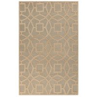 Dream 36 X 24 inch Gray and Neutral Area Rug, Wool