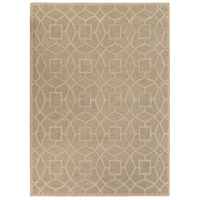 Dream 132 X 96 inch Gray and Neutral Area Rug, Wool