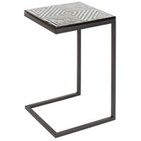 Surya DUNN100-151526 Dunn 26 X 15 inch Black and Cream Accent Table