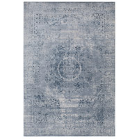 Durham 36 X 24 inch Gray and Neutral Area Rug, Polypropylene and Chenille