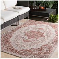 Surya EAG2301-5376 Eagean 90 X 63 inch Dark Red Outdoor Area Rug, Rectangle alternative photo thumbnail