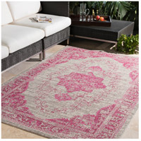 Surya EAG2305-710103 Eagean 123 X 94 inch Bright Pink Outdoor Area Rug, Rectangle alternative photo thumbnail