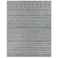 Surya EAG2306-710103 Eagean 123 X 94 inch Denim Outdoor Area Rug, Rectangle photo thumbnail