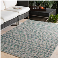 Surya EAG2307-5376 Eagean 90 X 63 inch Aqua Outdoor Area Rug, Rectangle alternative photo thumbnail