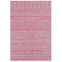 Eagean 90 X 63 inch Bright Pink Outdoor Area Rug, Rectangle