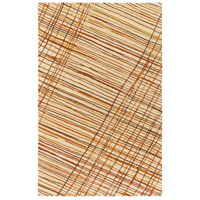 Surya EGF1000-576 Flying Colors 90 X 60 inch Neutral and Brown Area Rug, Wool photo thumbnail