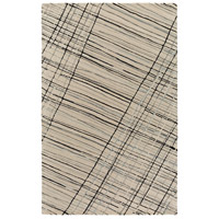 Surya EGF1002-576 Flying Colors 90 X 60 inch Gray and Black Area Rug, Wool photo thumbnail