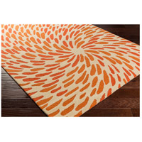Surya EGF1005-810 Flying Colors 120 X 96 inch Neutral and Orange Area Rug, Wool alternative photo thumbnail