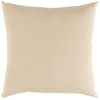 Essien 16 X 16 inch Beige Outdoor Pillow Cover