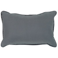 Essien 19 X 13 inch Grey Outdoor Pillow Cover