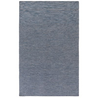 Everett 114 X 90 inch Blue and Black Outdoor Area Rug, Acrylic