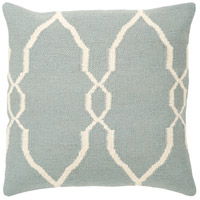 Surya FA022-2222 Fallon 22 X 22 inch Blue and Off-White Pillow Cover photo thumbnail