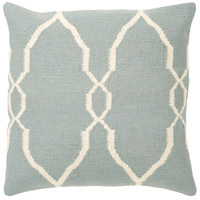 Surya FA022-2222 Fallon 22 X 22 inch Blue and Off-White Pillow Cover alternative photo thumbnail