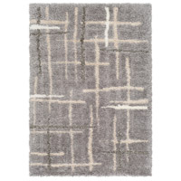 Surya FAF1000-810 Fanfare 120 X 96 inch Gray and Gray Area Rug, Polyester and Polypropylene photo thumbnail