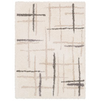 Surya FAF1001-576 Fanfare 90 X 60 inch Neutral and Neutral Area Rug, Polyester and Polypropylene photo thumbnail