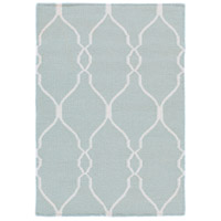 Surya FAL1005-23 Fallon 36 X 24 inch Blue and Neutral Area Rug, Wool photo thumbnail