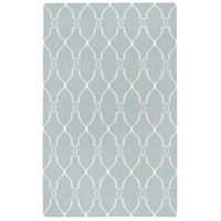 Surya FAL1005-3656 Fallon 66 X 42 inch Blue and Neutral Area Rug, Wool photo thumbnail