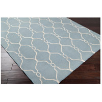 Surya FAL1005-8RD Fallon 96 inch Blue and Neutral Area Rug, Wool alternative photo thumbnail