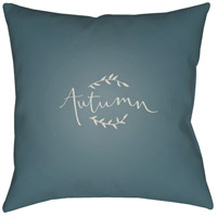 Surya FALL003-2020 Fall 20 X 20 inch Blue and White Outdoor Throw Pillow photo thumbnail