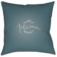 Surya FALL003-2020 Fall 20 X 20 inch Blue and White Outdoor Throw Pillow alternative photo thumbnail
