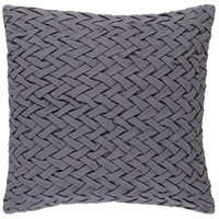 Surya FC001-2020 Facade 20 X 20 inch Grey Pillow Cover photo thumbnail