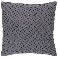 Surya FC001-2020D Facade 20 X 20 inch Medium Gray Throw Pillow alternative photo thumbnail