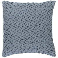 Surya FC006-2020 Facade 20 X 20 inch Grey Pillow Cover photo thumbnail