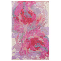 Surya FCT8002-576 Felicity 90 X 60 inch Pink and Purple Area Rug, Polyester photo thumbnail