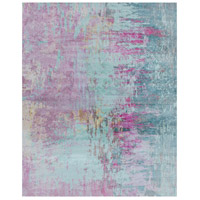 Felicity 120 X 96 inch Purple and Blue Area Rug, Polyester