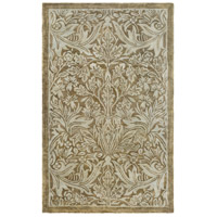 Surya FGD1001-576 Fitzgerald 90 X 60 inch Green and Green Area Rug, Wool photo thumbnail