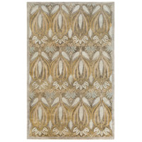 Surya FGD1002-576 Fitzgerald 90 X 60 inch Green and Neutral Area Rug, Wool photo thumbnail