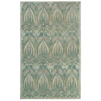 Surya FGD1003-576 Fitzgerald 90 X 60 inch Blue and Gray Area Rug, Wool photo thumbnail