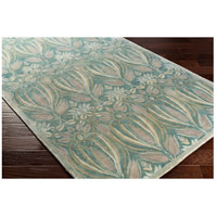 Surya FGD1003-576 Fitzgerald 90 X 60 inch Blue and Gray Area Rug, Wool alternative photo thumbnail