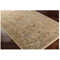 Surya FGD1005-23 Fitzgerald 36 X 24 inch Green and Green Area Rug, Wool alternative photo thumbnail