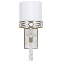 Surya FGE-001 Filligree 1 Light 1 inch White Wall Sconce Wall Light