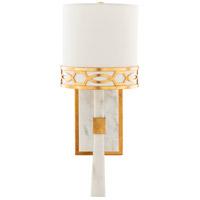 Surya FGE-002 Filligree 1 Light 1 inch White Wall Sconce Wall Light