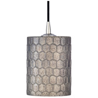 Surya FGN-001 Finnegan 1 Light 6 inch Taupe Pendant Ceiling Light