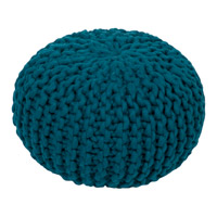 Surya FGPF-005 Fargo 14 inch Blue Pouf photo thumbnail