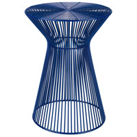 Surya FIFE102-131318 Fife 14 inch Dark Blue Accent Table