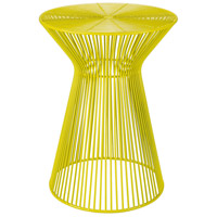 Surya FIFE104-131318 Fife 14 inch Bright Yellow Accent Table