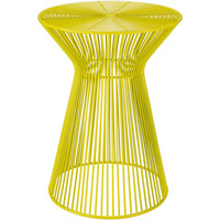 Fife 18 X 14 inch Bright Yellow Accent Table Home Decor