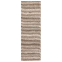 Surya FIX4002-268 Felix 96 X 30 inch Brown and Neutral Runner, Wool photo thumbnail