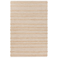 Surya FJI8001-23 Fiji 36 X 24 inch Neutral and Yellow Area Rug, Wool and Jute photo thumbnail