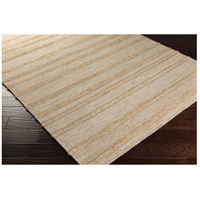 Surya FJI8001-58 Fiji 96 X 60 inch Neutral and Yellow Area Rug, Wool and Jute alternative photo thumbnail