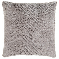 Surya FLA002-2020 Felina 20 X 20 inch Grey and White Pillow Cover photo thumbnail