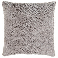 Surya FLA002-2020 Felina 20 X 20 inch Grey and White Pillow Cover alternative photo thumbnail