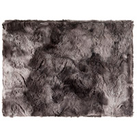 Felina 60 X 50 inch Black and Grey Throw