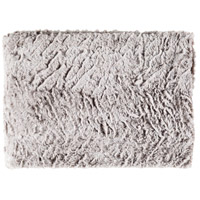 Surya FLA8001-5070 Felina 60 X 50 inch Grey and White Throw